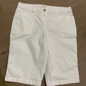 Chico's shorts white 2